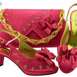 Amazing fuchsia sandals with b