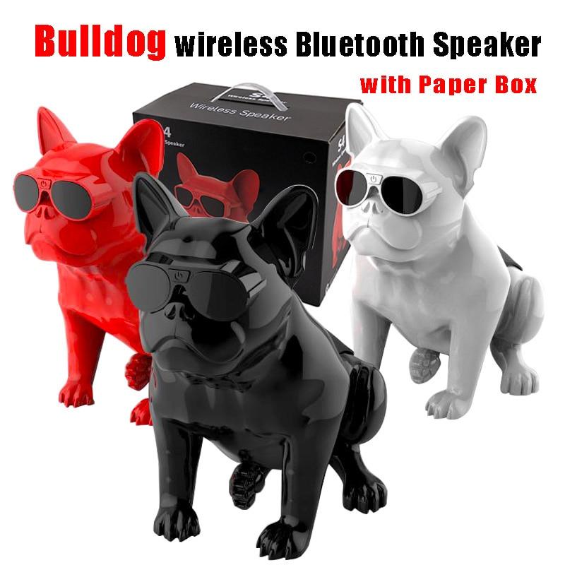 Wireless Bluetooth Speaker Bulldog Speaker Subwoofer Multipurpose Computer Speakers Portable HIFI BassWireless Bluetooth Speaker Bulldog Speaker Subwoofer Multipurpose Computer Speakers Portable HIFI Bass