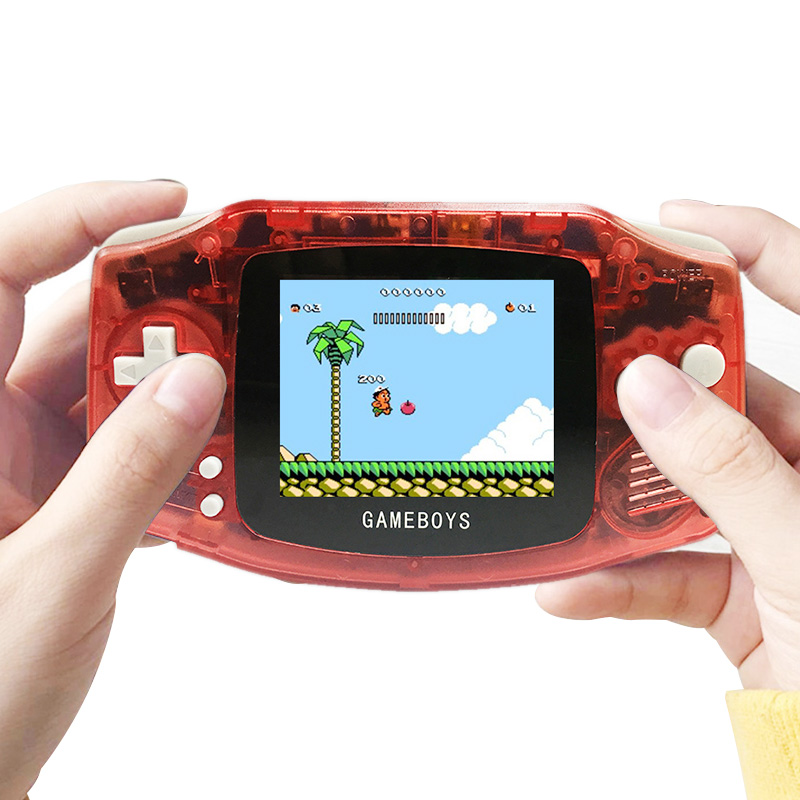 Pocket Handheld Video Gamer Console 3 Inch Retro Classic AV TV Gamepad Built-in 400 Games Support Dual Player