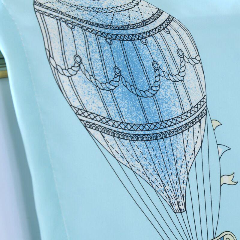 100% Polyester Körpə Uşaq Otaq Pərdələri Pastoral Stlye Cizgi - Ev tekstil - Fotoqrafiya 3