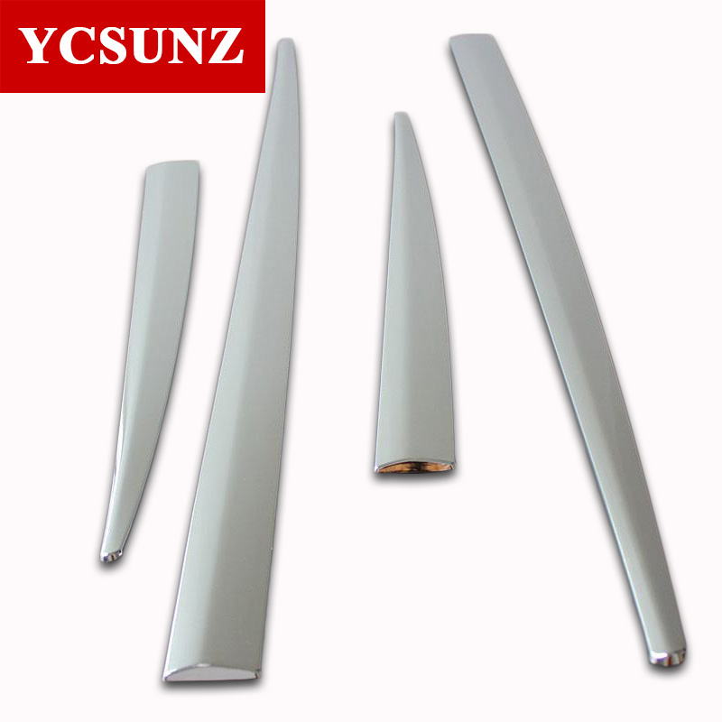 2014-2017 For Honda Hrv Car Accessories ABS Chrome Side Door Body Trim For Honda HRV / VEZEL Chrome Molding Body Strips Ycsunz 2014 2017 for honda hrv car accessories abs chrome side door body trim for honda hrv vezel chrome molding body strips ycsunz