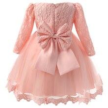 Trẻ Sơ Sinh 1st Sinh Nhật Trang Phục Mùa Đông Cho Bé Gái Christening Váy Đầm Công Chúa Trẻ Em Trẻ Em Đảng Mặc Đầm Cô Gái Chính Thức Đầm Vestido