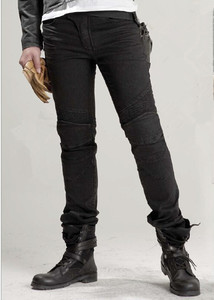 Image 1 - Uglybros נוצות ג ינס אופנוע מכנסיים גברים של כביש רכיבה ג ינס אופנה מזדמן motorpool מכנסיים 3 צבע size28 40