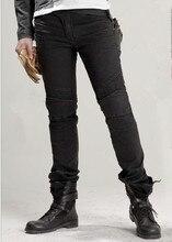 Углиbros джинсы с перьями, мотоциклетные брюки, мужские дорожные джинсы для езды, модные повседневные штаны для мотоциклов, 3 цвета, для езды на мотоцикле