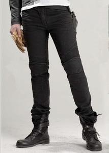 Image 1 - Углиbros джинсы с перьями, мотоциклетные брюки, мужские дорожные джинсы для езды, модные повседневные штаны для мотоциклов, 3 цвета, для езды на мотоцикле