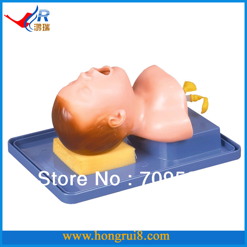 Neonatal Tracheal Intubation Model,Medical Airway model iso economic newborn baby intubation training model intubation mannequin