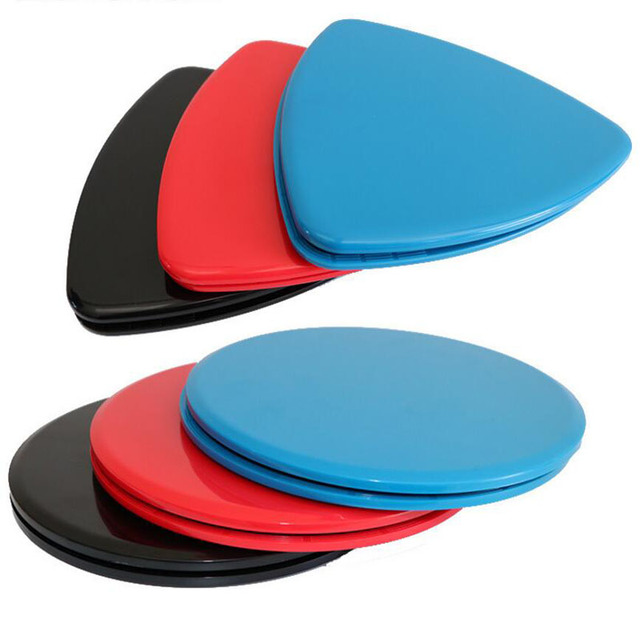 38da6eccc5a1 1 Pair Fitness Gym Slider Fitness Discs Exercise Gliders Discs Core Plate  For Exercise Gym Yoga Training Slimming Abdominal