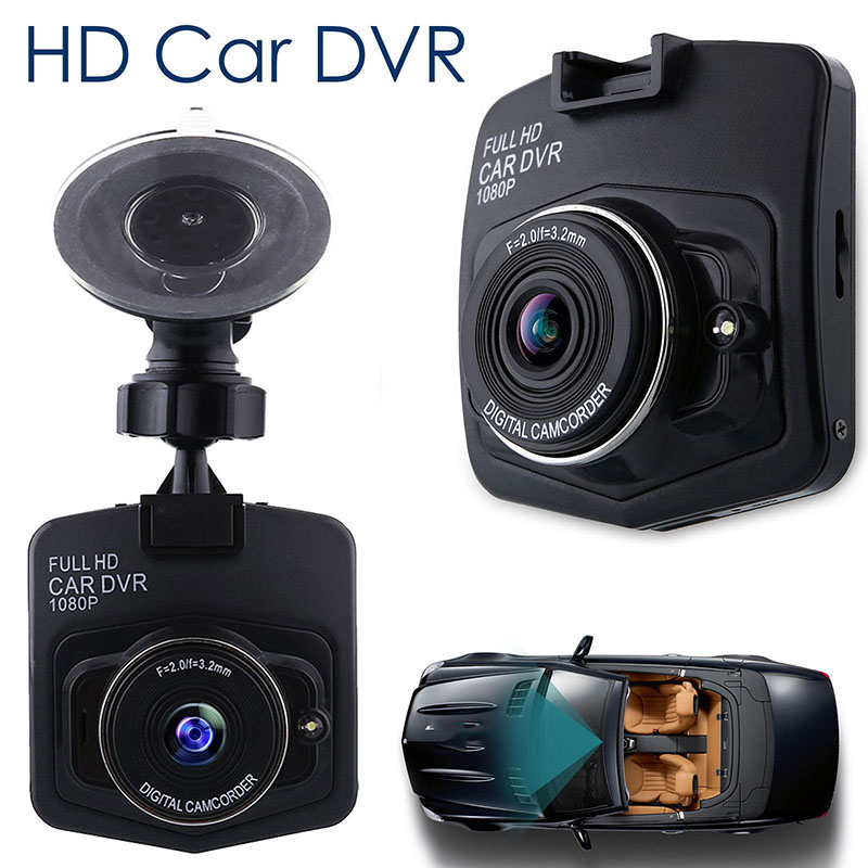 2.4 Portable Car DVR HD 1080P Vehicle Camera Video Recorder Microphone Night Vision Wide angle Dash Cam