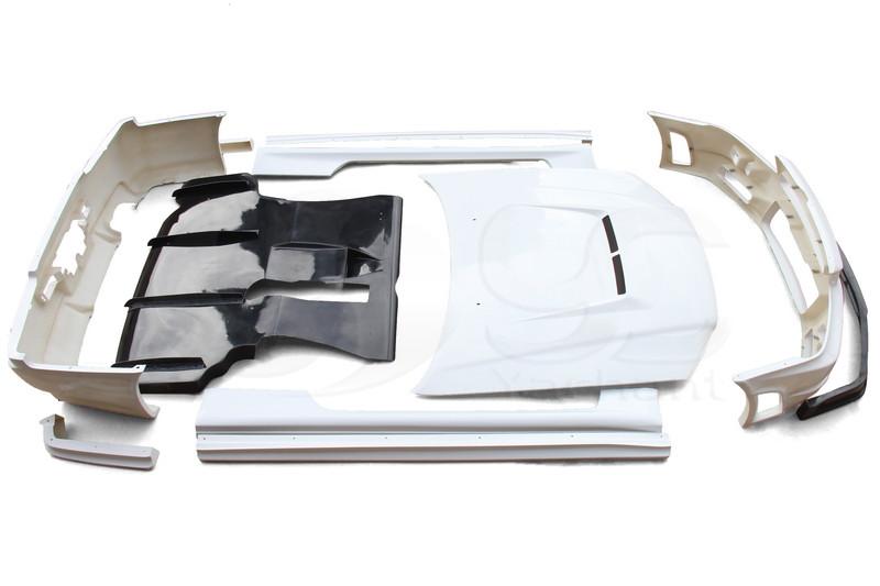 1999-2000 Nissan Skyline R34 GTT 2D GTR Conversion Body Kit (2)