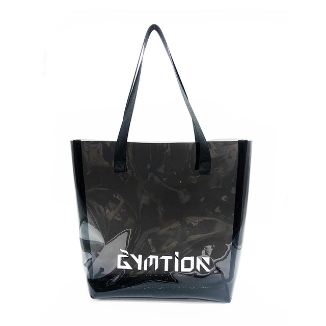 Clear Tote Bag Pvc Vinyl Ping Handbag Promotional Available For Custom