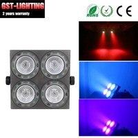 4 шт./лот COB 4X30 Вт RGB полный цвет светодиодные par прожекторы огни