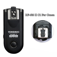 Yongnuo Upgrade RF 603 II C1 Flash Trigger Wireless Shutter Release Transceiver for Canon 300D/350D/400D/450D/500D/550D/1000D