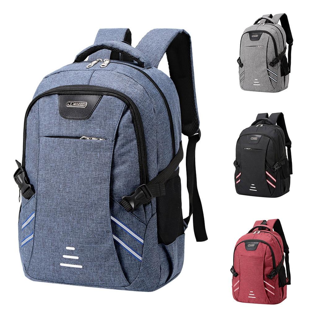 Mens Waterproof Backpack Business  Nylon  Men Laptop Bag Large Capacity New Travel Backpack College Student School Bags C514Mens Waterproof Backpack Business  Nylon  Men Laptop Bag Large Capacity New Travel Backpack College Student School Bags C514