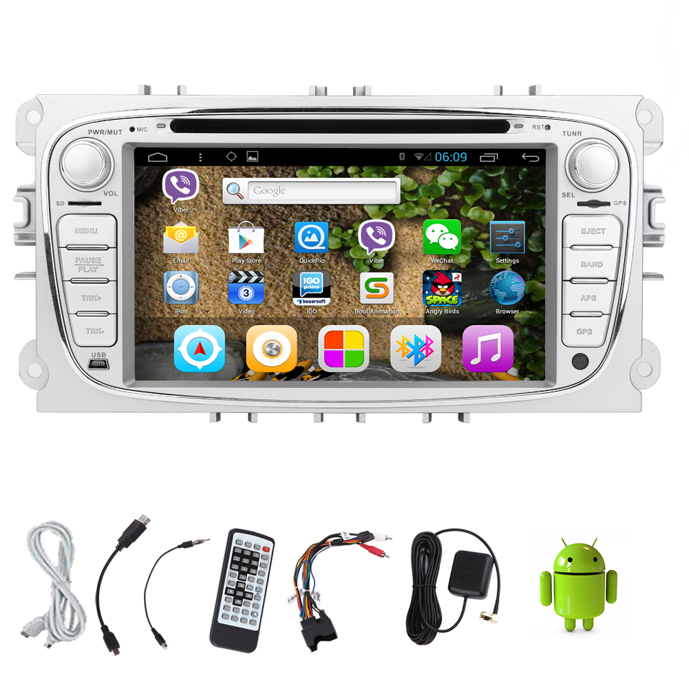 Android 5 1 Logo Audio Auto Eq Autoradio Receiver Radio Map Cd Fm