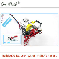 3D Printer Extruder E3D V6 Bulldog XL Extrusion System Suite Replace MK8 Heating Head J Head