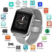 Smart Watch Clock With Sim TF Card Slot Push Message Bluetooth Connectivity Android Phone Smartwatch Men Watches Digital Watch