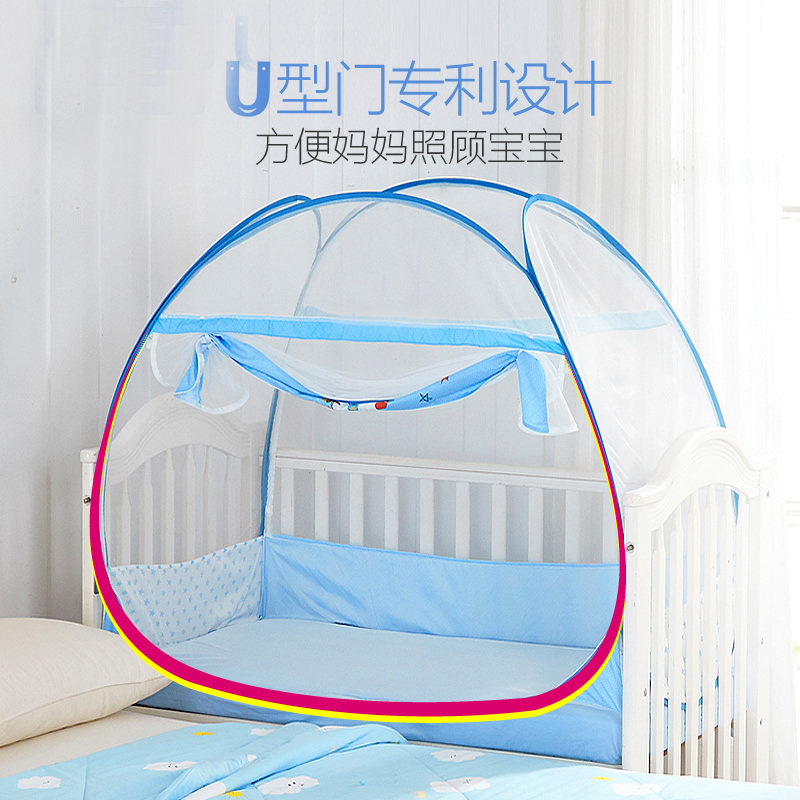 Double door Type Crib Yurt Netting Larger Space Baby Bed Canopy Travel Kids C&ing Mesh Tent Folding Easily Baby Mosquito Net -in Crib Netting from Mother ...  sc 1 st  AliExpress.com & Double door Type Crib Yurt Netting Larger Space Baby Bed Canopy ...