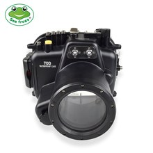 Photography Underwater 40m Camera Waterproof Housing for Canon EOS 70D 18-55mm Water Sport Case Viedography System Device Set waterproof underwater housing camera housing case for canon 550d 18 55mm lens