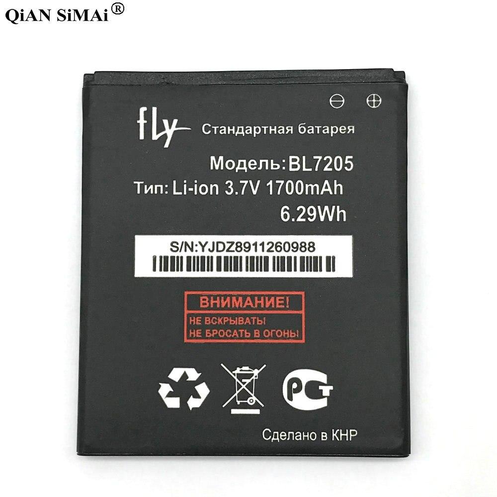 New High Quality BL7205 1700mAh battery For Fly IQ4409 Quad ERA life 4 phone