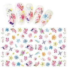 1 Sheet Nail Sticker Flower Butterfly Design Stickers of Nail Beauty Girl Nail Decoration Manicure Nail Art Stickers LDG 1 sheet nail sticker flower butterfly design stickers of nail beauty girl nail decoration manicure nail art stickers ldg