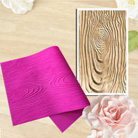 Woodeb Bark Texture Large Lace Mat Confeitaria Fondant Cake Silicone Molds Cupcake Mould Chocolate Kitchen Accessories