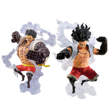 King Of Art KOA One Piece Chopper Action Figure Monkey D Luffy Gear 4 Snake man Fighting Form Bounce snakeman Figurine