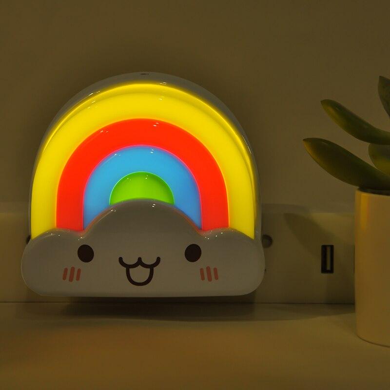Luzes da Noite luzes decorativas lâmpada de cabeceira Power : Ac220v/110v