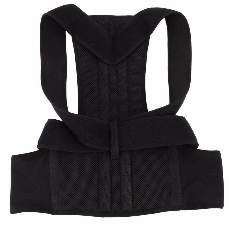 Adjustable Back Posture Corrector Clavicle Spine Back Shoulder Lumbar Brace Support Belt Posture Correction Prevents Slouching 6