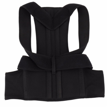 Adjustable Back Posture Corrector Clavicle Spine Back Shoulder Lumbar Brace Support Belt Posture Correction Prevents Slouching 11
