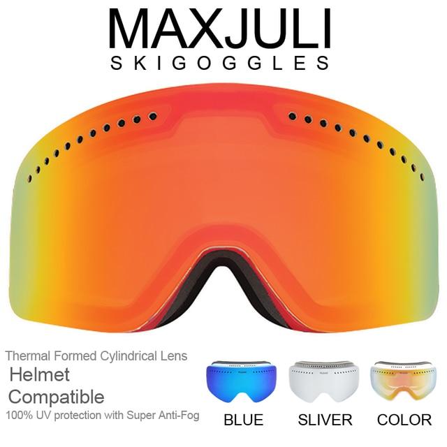 09929d926c MAXJULI OTG Ski Goggles