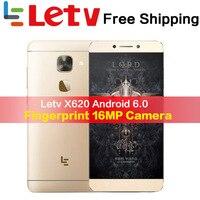 Оригинальный Letv Le2 X620 X527 32G Встроенная память Android6.0 телефон Дека Core 2,3 GHz 5,5 ''16MP смартфон мобильного телефона