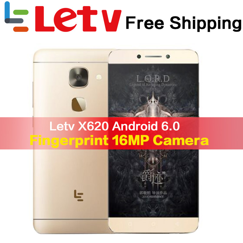 Letv Original Le2 X620 32G ROM Android6.0 teléfono Helio X20 Deca Core 2,3 GHz 5,5