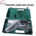 Pneumatische nadel anti rost gun JEX 28 entrosten air Nadel Scaler  pneumatische entrosten pistole + kunststoff box 1 stück-in Pneumatik-Werkzeuge aus Werkzeug bei
