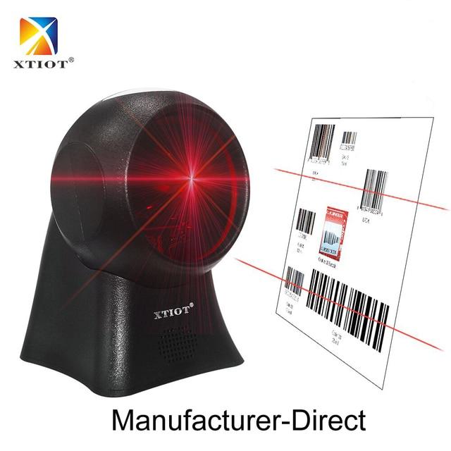 XT7120 Laser Ngang Máy Quét Mã Vạch 20 Dòng Máy Tính Để Bàn Đa Hướng Mã Vạch 1D Máy Quét Mã Vạch Laser dành cho Siêu Thị