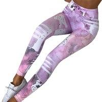 2017 Hot Summer Women S New Digital Printing Fashion Sporting Leggings Workout Pants Joggers Leisure Elastic
