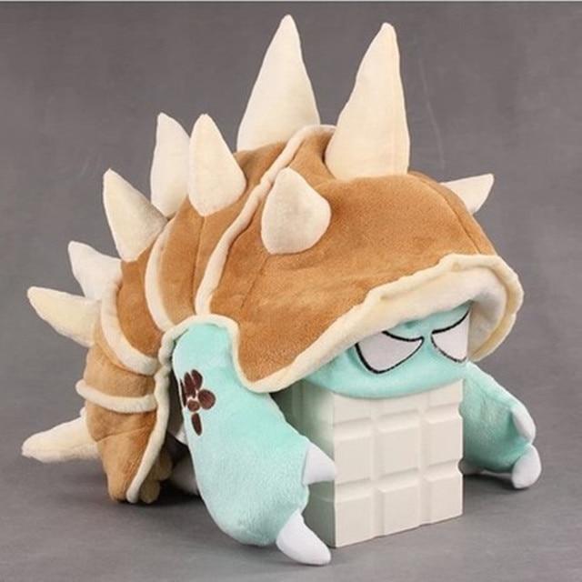 LOL Armordillo Rammus Şapka 4 stilleri Büyük kalite Dolması oyuncaklar  Cosplay Noel hediye Caps 49a07b8aa0