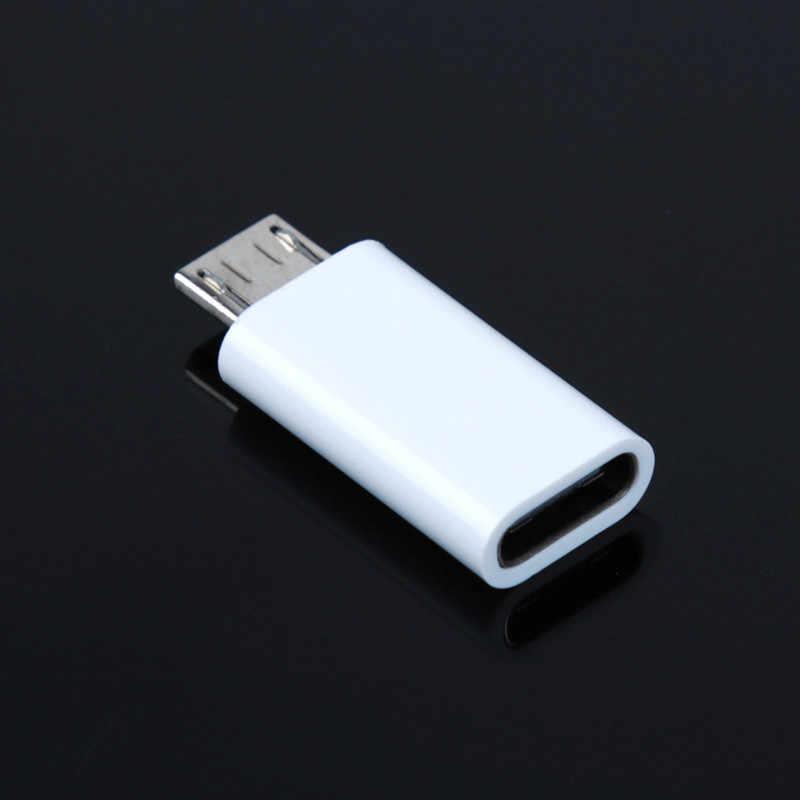 Siancsタイプ-cメスマイクロusbオス変換アンドロイド電話ケーブルアダプタUSB-C充電器コネクタ用xiaomi mi 5 huawei p9