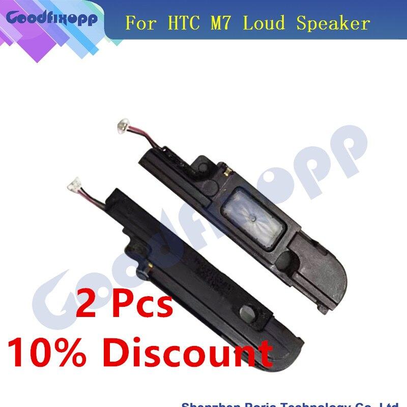 Original LoudSpeaker For HTC One M7 801e Loud Speaker Sound Buzzer Ringer Flex Mobile Ephone Flex Cable For HTC One M7
