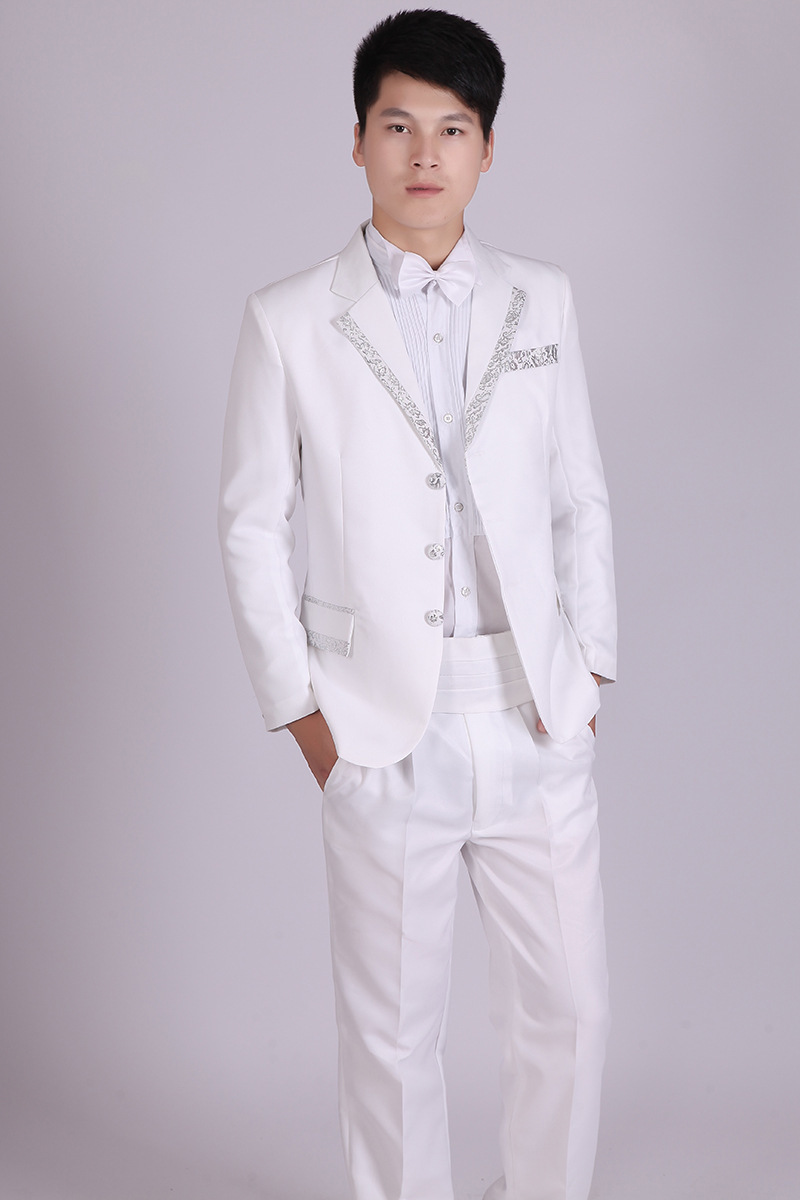 Online Buy Wholesale cheap white suit from China cheap ...