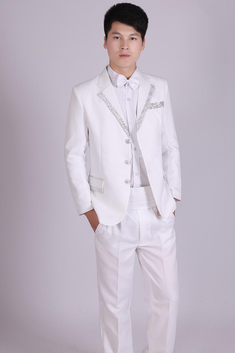 White Suit Jacket Men