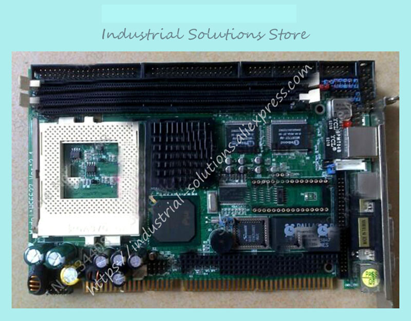 все цены на industrial motherboard HS6637 VER:2.1 board 100% Tested Good Quality онлайн