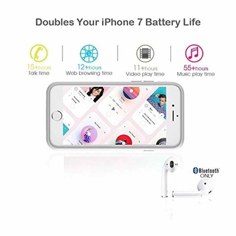 NENG באיכות גבוהה 4000mAh טעינת סוללה מקרה חיצוני מגן מטען כוח בנק עבור iPhone 6 6s בתוספת 7 בתוספת 5.5 אינץ