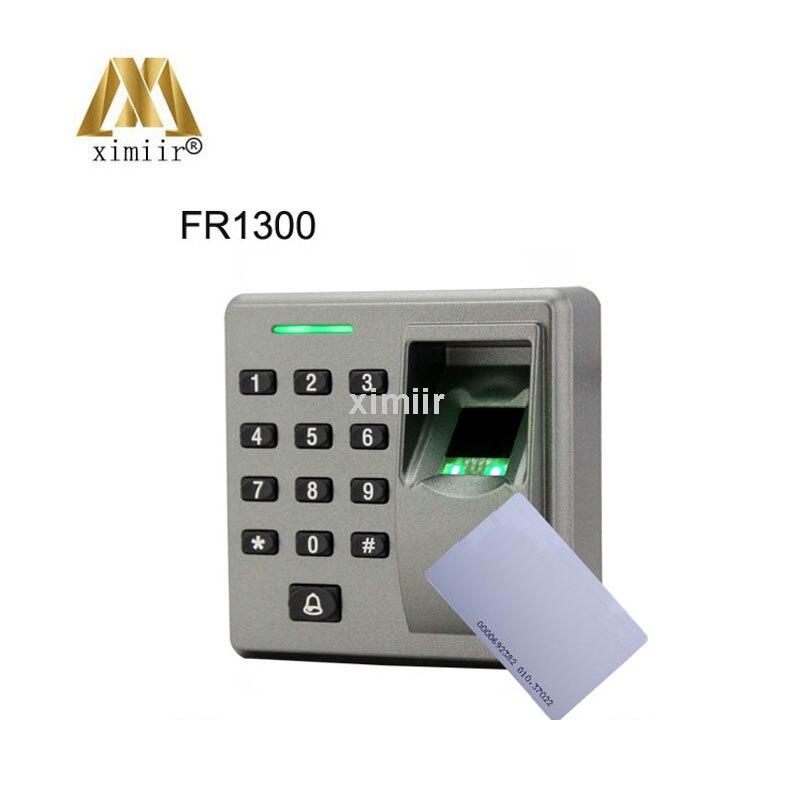 RS485 Slave Reader ZK FR1300 Support Fingerprint + RFID + Keypad Smart Finger SensorRS485 Slave Reader ZK FR1300 Support Fingerprint + RFID + Keypad Smart Finger Sensor