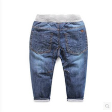 Free shipping Children s Spring Pants 2016 new children s clothing Baby casual pants Boys denim