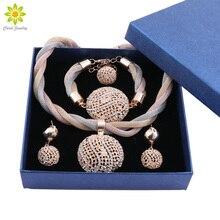 African Beads Jewelry Set Nigerian Wedding Dubai Jewelry Set