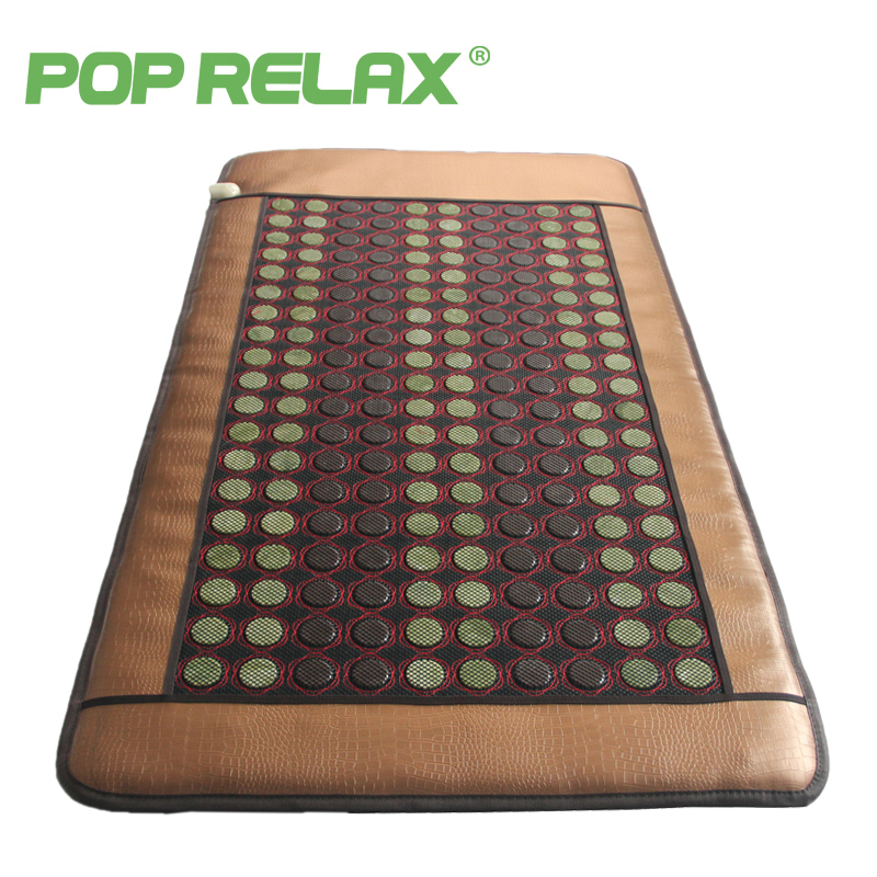 POP RELAX Korea health bed mattress jade tourmaline germanium ceramic ion mattress electric heating pad thermotherapy stone mat