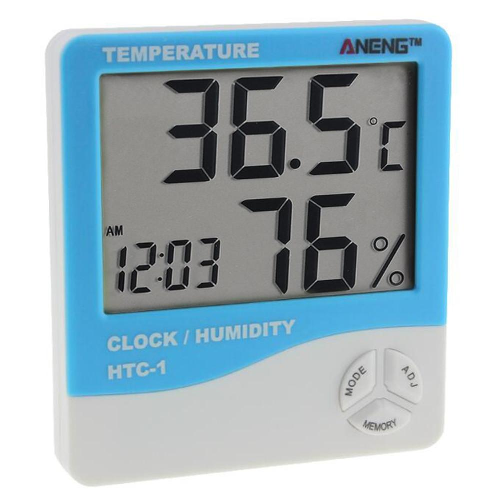 ANENG Digital LCD  Indoor Electronic Weather Station Thermometer Hygrometer