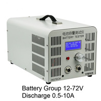 Свинцово кислотная литиевых Батарея Ёмкость тестер инструменты, электрический велосипед Батарея 12 72 В 0,50 10A разряда тестер Oneline программног