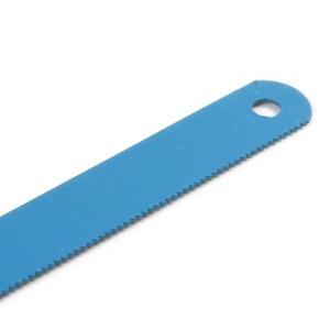 Image 4 - 10x גבוהה פחמן פלדה כחול צבע מסור להבי 300mm אורך מתכת להב לחיתוך מתכת מוצרים