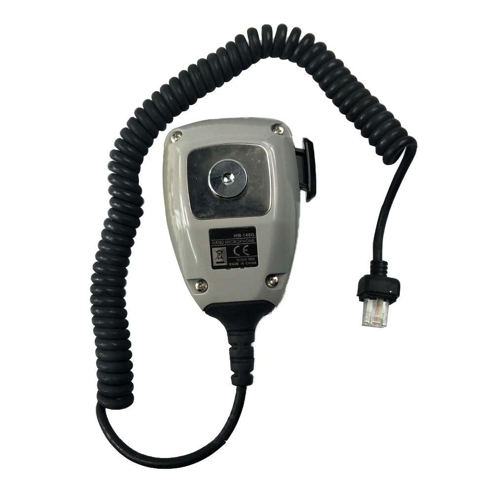 HM-148G DTMF ham Mic Heavy Duty Self Grounding for iCom Series Hand Microphone